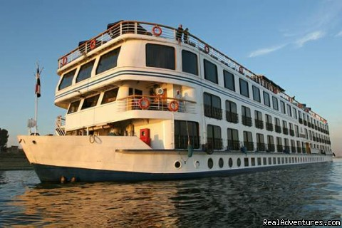 5 Days 5 star deluxe Nile Cruise from Luxor River Cruises Egypt
