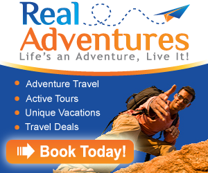 Accommodations, Vacations, Rentals, Adventure Travel, Tours & Getaways @ RealAdventures