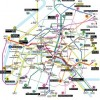Paris Public Transportation Map Chartres, France Maps