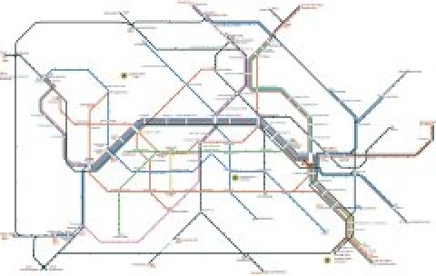 Berlin Public Transportation Map