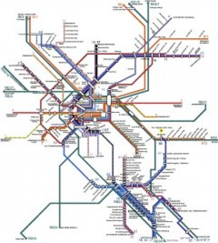 Bonn Public Transportation Map