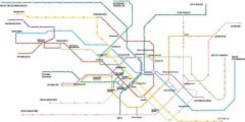 Tokyo Public Transportation Map