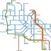 Amsterdam Public Transportation Map Maps Netherlands