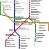 St. Petersburg Public Transportation Map Kaliningrad, Russian Federation Maps