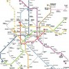 Madrid Public Transportation Map