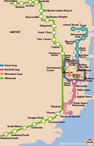 Miami Public Transportation Map