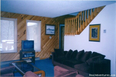 Living Room - Mt. Snow Chalet