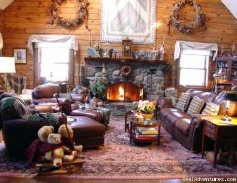Cozy Livingroom - Holly Cabin