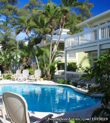 Beach Cottage, Indian Rocks Beach: Sarah's Seaside Hisoric Cottages and Suites