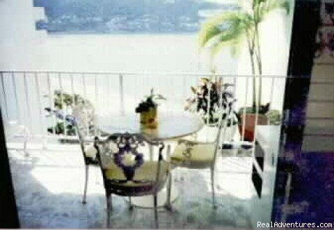 Balcony - ACAPULCO BEACHFRONT Condo - With Cook/ Housekeeper