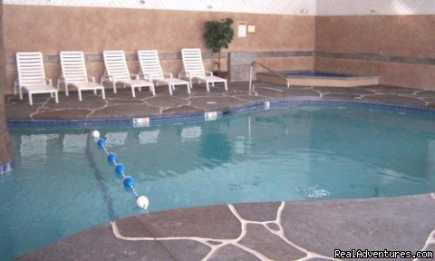 Indoor pool | Image #7/7 | Wells ME vacation 2 BR condo suite rental