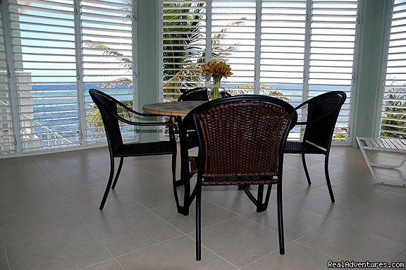 Oceanfront Lanai | Image #7/20 | Cayman Breeze Luxury Beachfront Condo at Rum Point