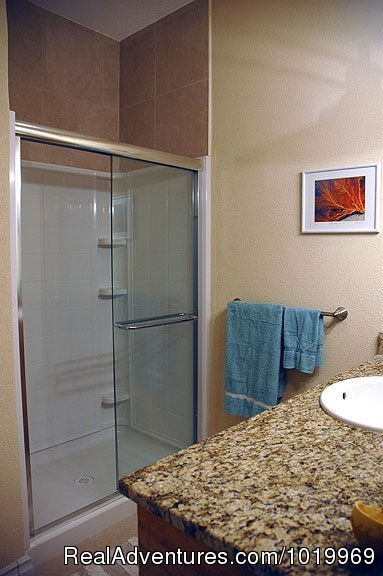 2nd Bathroom (#17 of 26) - Cayman Breeze Luxury Beachfront Condo at Rum Point