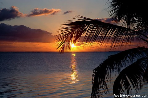 Sunrises are not to be missed - Cayman Breeze Luxury Beachfront Condo at Rum Point