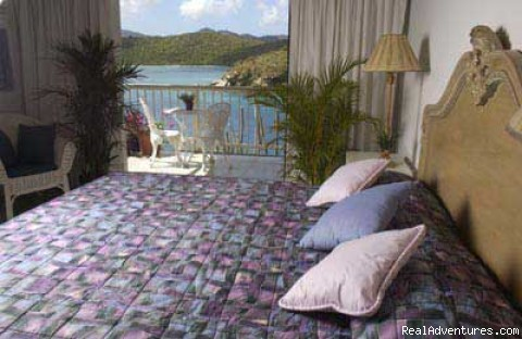 Second King Bedroom - Romantic waterfront villa, private snorkeling beac