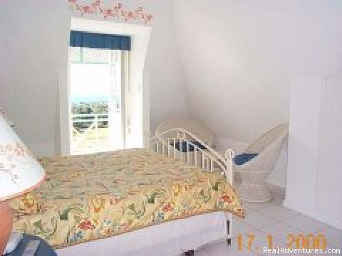 Second Bedroom Queensized Bed - Tobago Villa Rentals