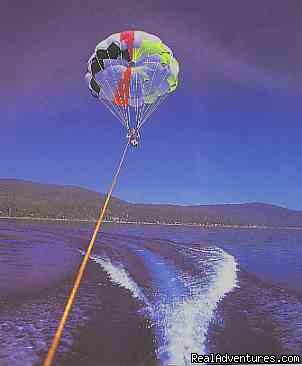 Parasailing on the lake - Accommodation Tahoe