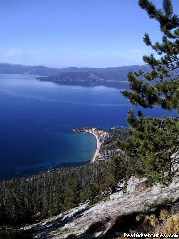 Spectacular views from the hiking trails - Accommodation Tahoe
