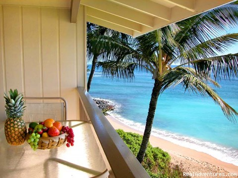 3rd Floor Private Lanai - Breathtaking Oceanfront Condos in Kapaa