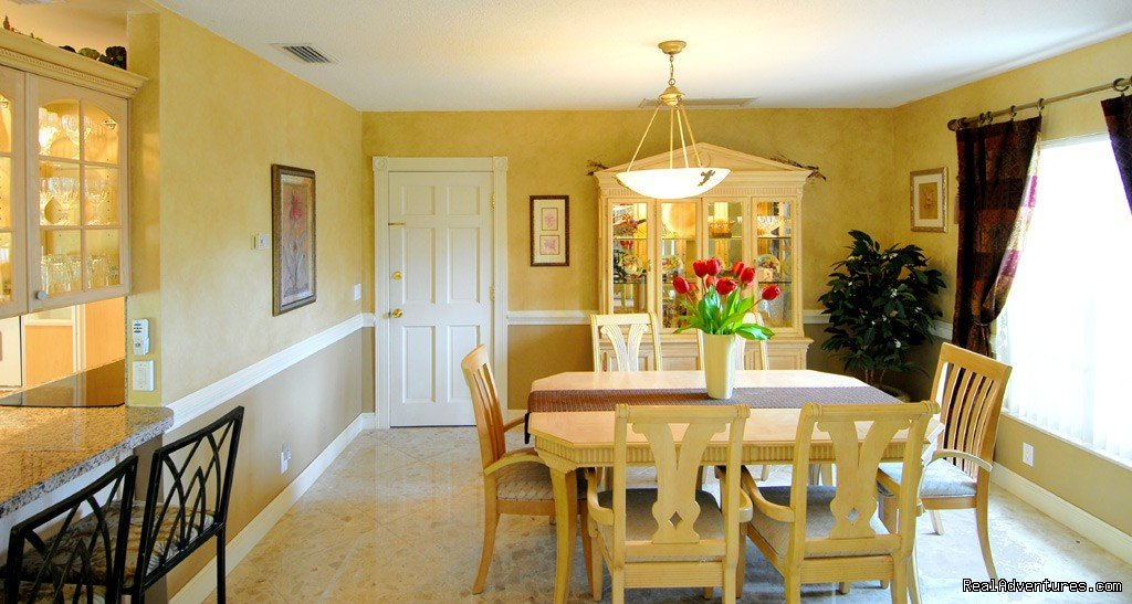 Florida vacation rental home, fort lauderdale, dining room | Image #18/18 | Florida luxury home rentals