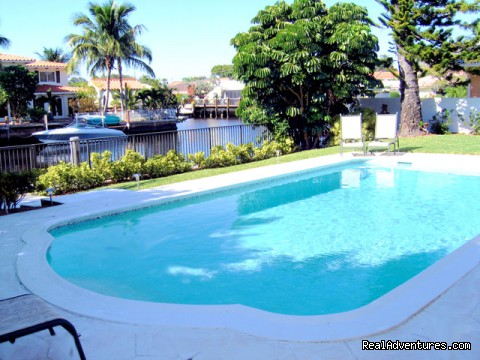 Florida luxury home rentals: Fort Lauderdale luxury waterfront vacation rental  Home