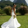 Bride on Lawn at La Haut Resort
