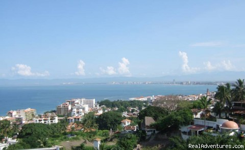 Stunning Condo with fabulous view, in PV View from Living room