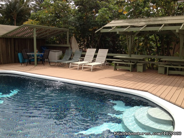 Ample pool seating - Beach House w/Pool, Sleeps 8, Newly Remodeled