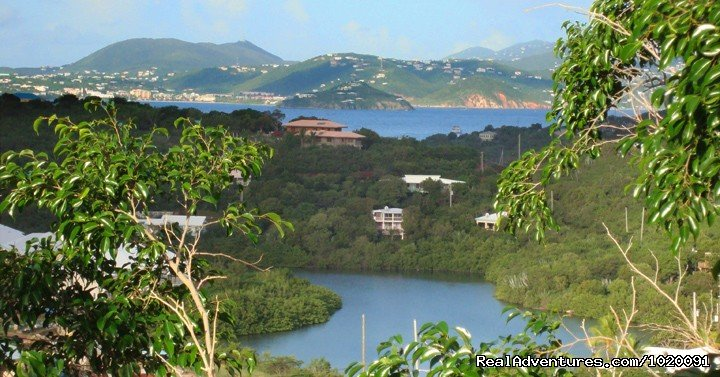 The View of St Thomas in the Distance | Image #2/19 | Charming 2 Bed/2 Bath Villa with Hot Tub and Views