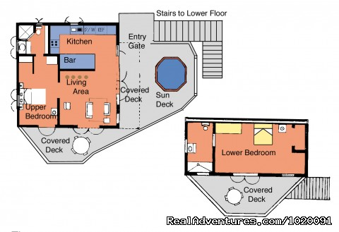 Floor Plan - Aug-Oct 15% Discounts-Charming 2 Bed Villa & Views