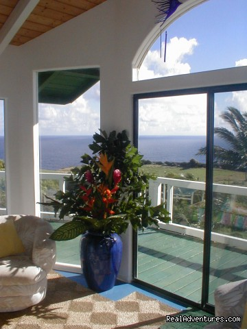 Ocean Lookout ... for a reason - Huelo Point Lookout...a romantic B&B retreat
