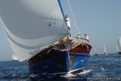 Bodrum Cup Winner - Turkey Sailing Blue Voyages & Blue Cruises