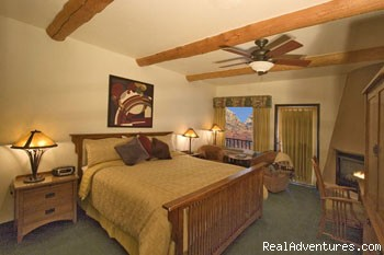 Mission King Guest Room - A Southwest Inn at Sedona (Voted Sedona's Best)