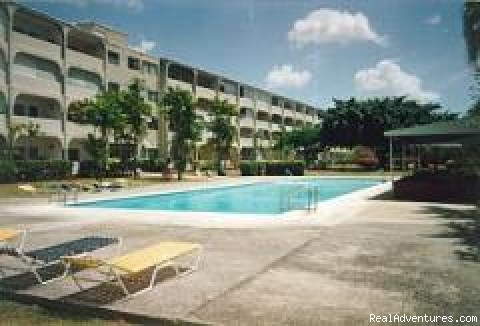 West coast Barbados condo with swimming pool