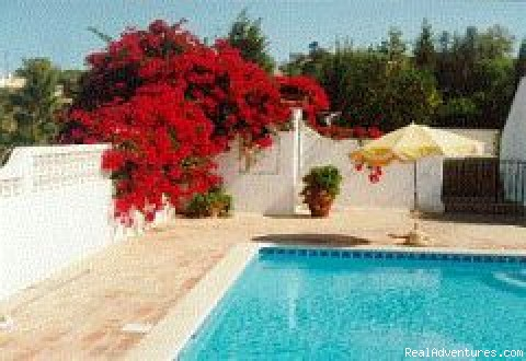 The pool terrace - Casa Margarida, a great villa with heated pool