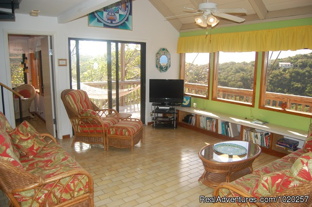 Living Room - Sundancer Villa - Privacy w Pool & Hot Tub