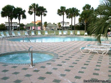 Heated pool & Jacuzzi - Maravilla Luxury Condos-WiFi-2Pools-Private beach