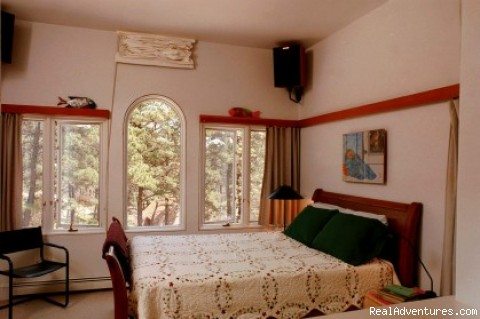 Master Bedroom - The Laurel, a 2BR and or 1BR Guest House
