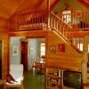 Guest House handcrafted birch interior