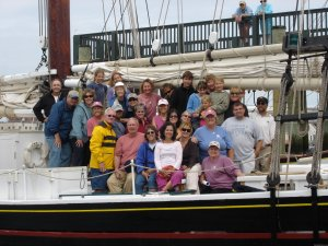 Sailing aboard a Maine Windjammer Rockland, Maine Sailing & Yacht Charters