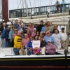 Sailing aboard a Maine Windjammer Happy faces at the end of a voyage!