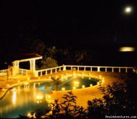 Pool by Moonlight - High Hope Estate