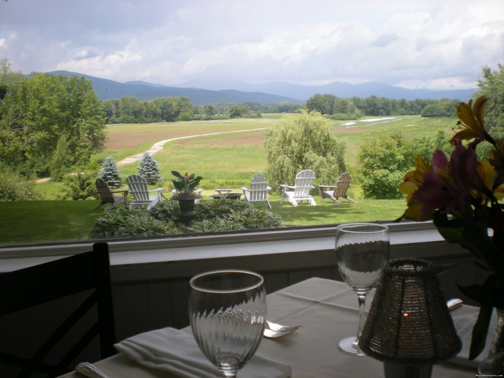 View from porch dining room | Image #7/14 | The Oxford House Inn
