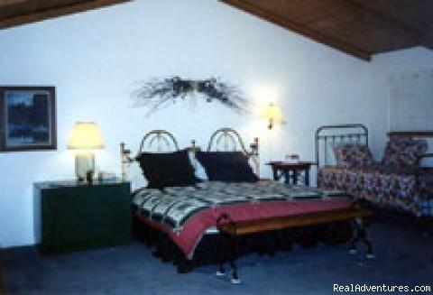 Master Bedroom - Adorable log cabin