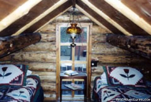 Loft - Adorable log cabin