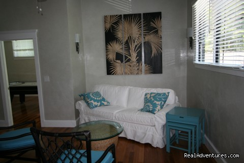 Sitting Room at Diamond Head House - SandSea, Inc. Vacation Homes