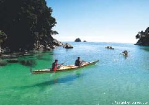 Sea Kayaking Abel Tasman National Park - Wilsons Abel Tasman - Sea Kayaking/Trekking