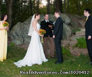 Friendly Crossways Retreat & Wedding Venue: Outdoor Tented Wedding