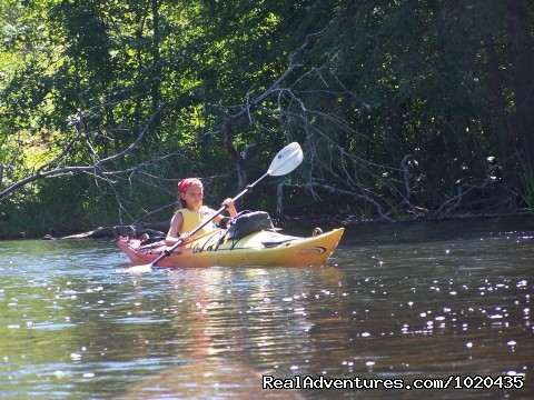 Kayak - A Wilderness Haven Resort