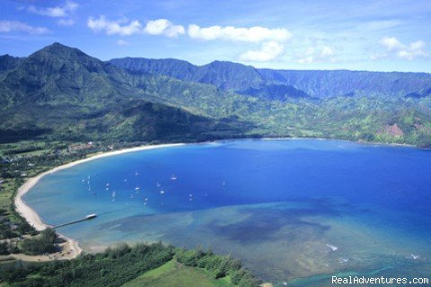 Hanalei Bay and Beach - 2 miles away